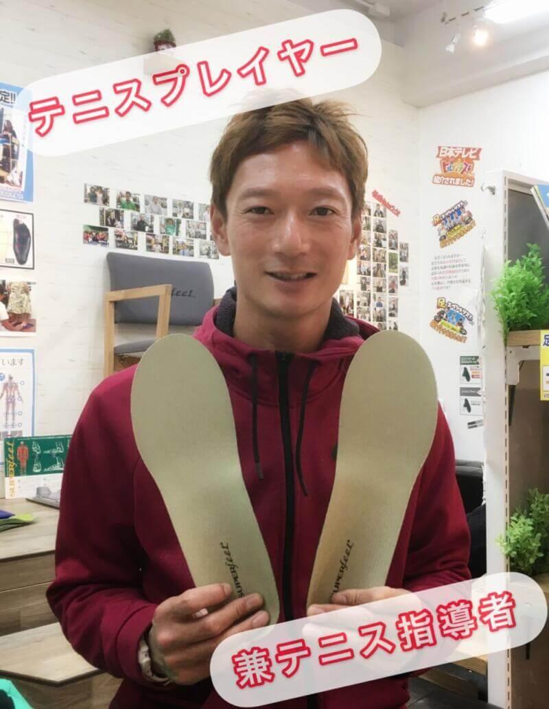 テニス選手来店記念!
