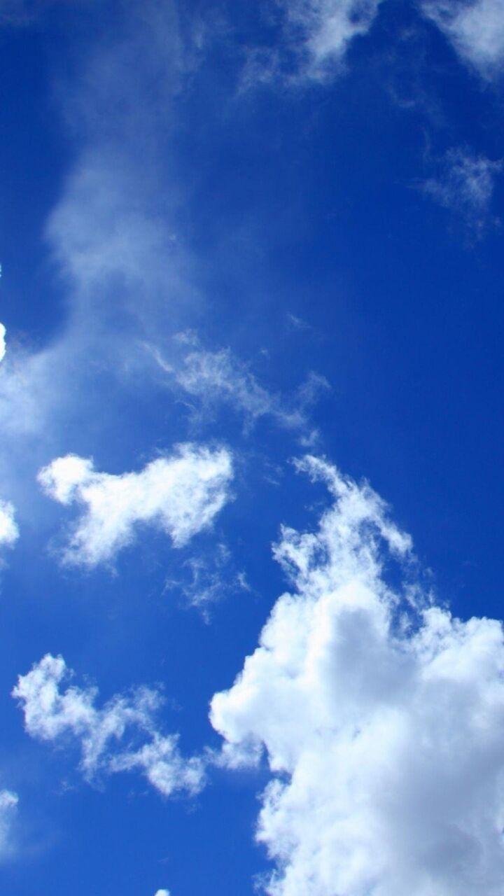 青空をパシャリ